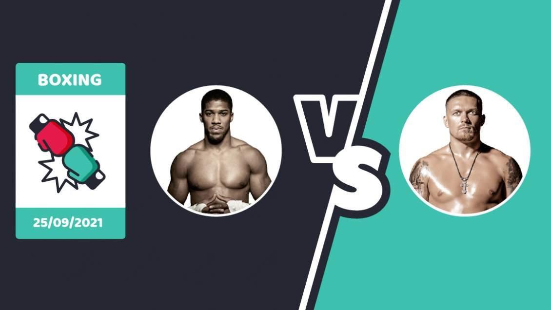 Joshua vs Usyk Betting Sites
